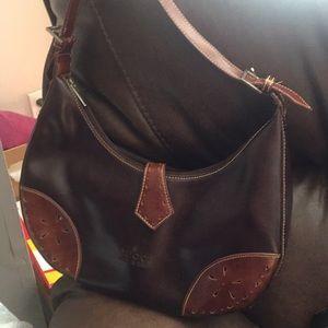 Gucci brown handbag